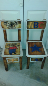Kids Chairs x 2