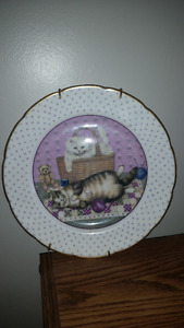 Janice Thompson's Cats Plate