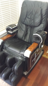 Leather Massage Chair ($750)