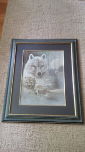Wolves picture frame London Ontario image 1