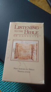 Listening To The Bible on Cassette-16 Cassettes