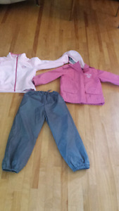 Fall 3 in one jacket and pants size 5/6 souris mini brand