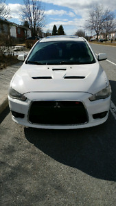 2010 Mitsubishi Lancer Ralliart Berline