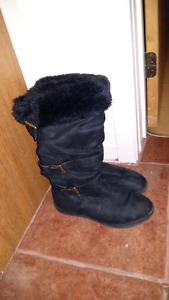 Fur lined boots from Spring