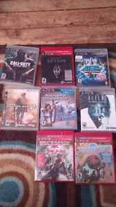 PS3 games...$5 each
