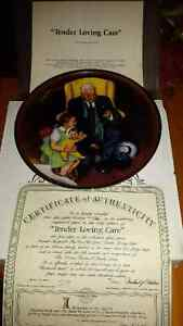 Tender Loving Care collector plate
