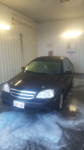2004 chevrolet optra (second owner)