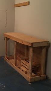 Free Homemade Bench