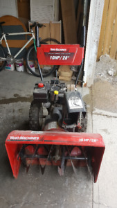 "MTD 10 HP 28"" 2 stage snow blower"