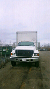 FORD STRAIGHT TRUCK FOR SALE- Witn Safety and Emisssion.