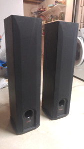 Polkaudio floor speakers