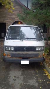 1986 Volkswagen Transporter Pickup Truck AS IS
