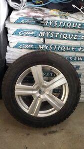 Pneus Blizzac 235 65R18 avec Mags Aluminium