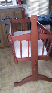 Rocking Cradle/Bassinet Good Condition