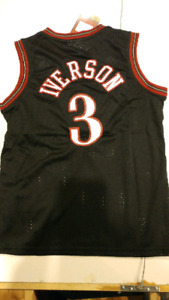 Brand new with tags youth 76ers Iverson basketball jersey