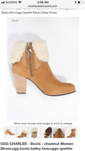 Like new UGG Charlee boots with heels