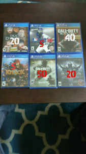 Video Games brand new and unopened