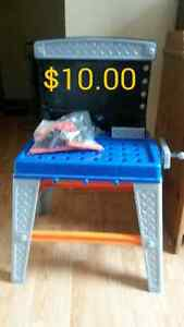 Kids workbench with tools Cambridge Kitchener Area image 1