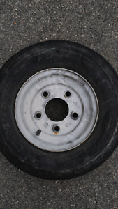 Small trailer tires