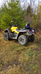 For sale 2012 can am 2 up outlander