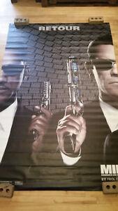 Bannière  géante du film LES HOMMES EN NOIR 3 / MEN IN BLACK 3