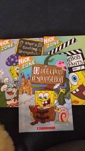 Sponge Bob books