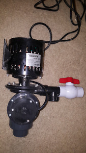 Bur Cam Automatic Laundry Tub Pump