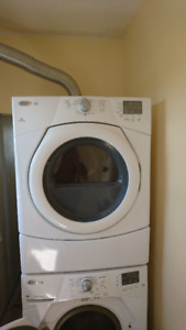 Whirlpool washer dryer stackable.