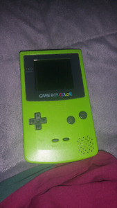 GAMEBOY COLOR 50$ WITH GAME