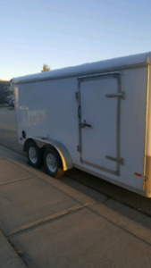 2013 7 x 14 enclosed trailer