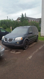 2005 Pontiac Montana SV6 Van for parts or repair