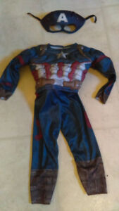 Costume Halloween 2 ans Capitaine America