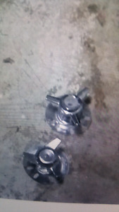 5 bolt full sized Chevy Truck spinners  ( Westbank )