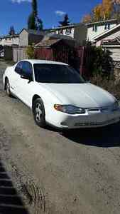 2001 Chevrolet Monte Carlo Coupe (2 door) Reduced to 1450.00