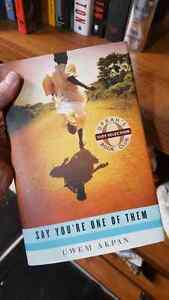 Hardcover book - Say you're one of them