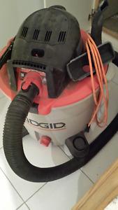 6 HP Wet/Dry RIDGID Vacuum  - 60 L (16 Gal.)