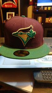 Purple and Teal toronto blue jays baseball hat size 7 1/8