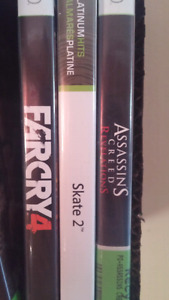 Xbox 360 games for sale or trade