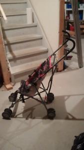 Stroller for small children.