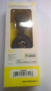 SCOSCHE sleekSYNCpro Car Charger for Android, Blackberry and Sma