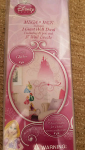 Princesses Wall decals (new in package) $5