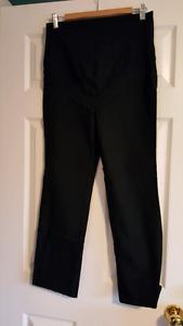 Black pants - maternity - medium