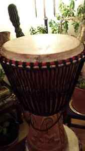 DJEMBE DRUM , Heavy Duty Stand and Carry Bag Cambridge Kitchener Area image 5