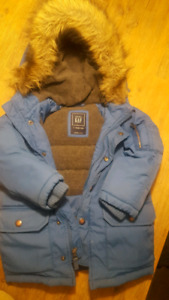 Toddler Boy's Winter Coat and Snow Pants