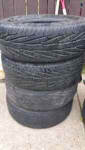 215/70r15 Goodyear Assurance TripleTred M+S Tires