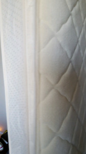 Full Size Boxspring and Pillowtop Mattress Sold