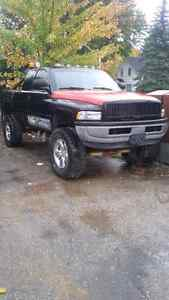 1997 dodge ram lifted