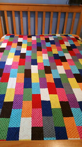 Flannel Quilt - Hand Made