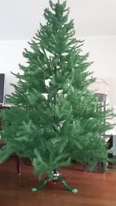 7.5ft. Artificial Christmas Tree with stand