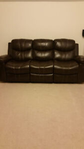Recliner Sofa From Leons (5 Piece)